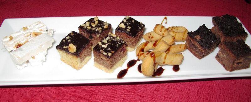 Sweet treats for dessert