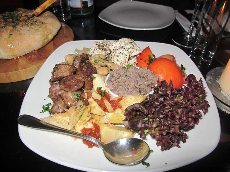 A delicious Maltese platter, Del Borgo