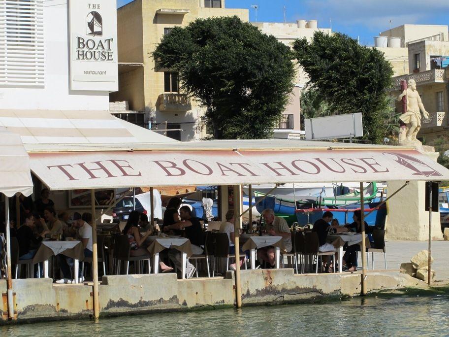 the boat house restaurant in malta my guide malta. Black Bedroom Furniture Sets. Home Design Ideas