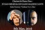 Clarinet & Piano Duo - J.Milkis & G.Mazzoccante