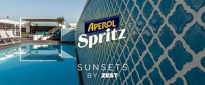 Aperol Spritz Sunsets by Zest