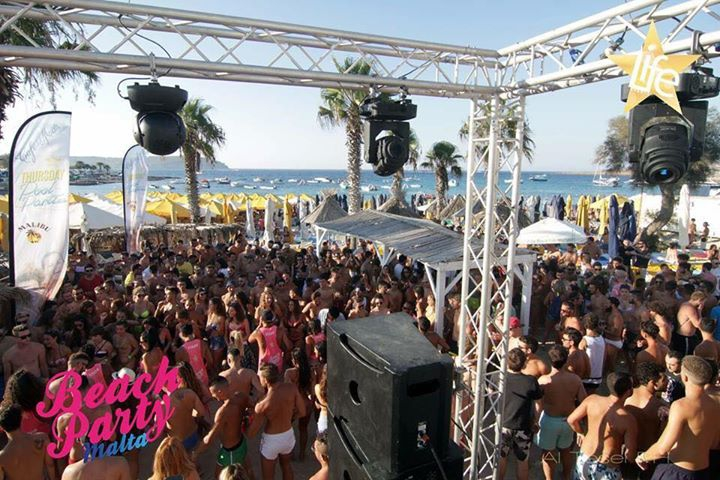 Beach Party Malta Opening party