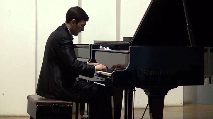 Boban Mirkovski piano recital