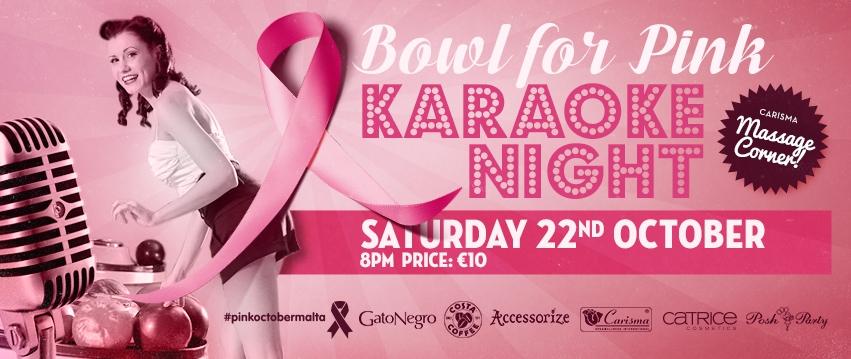 Bowl for Pink - Karaoke Night