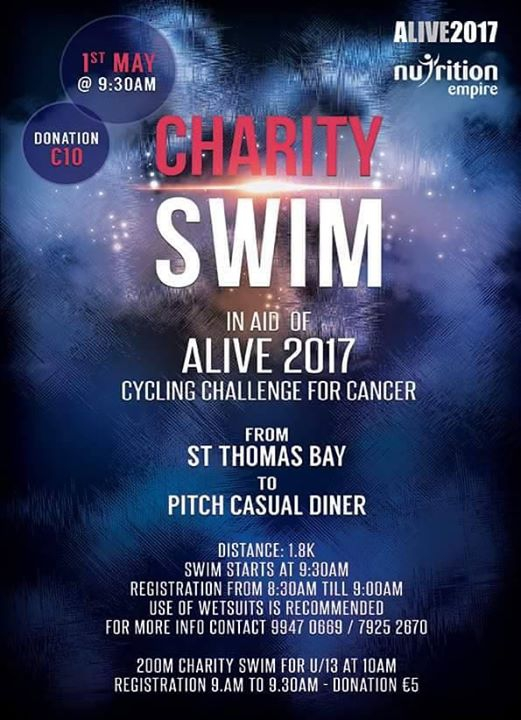 Charity Swim for Cancer