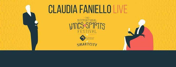 Claudia Faniello & Band @ The International Wines and Spirits Festival