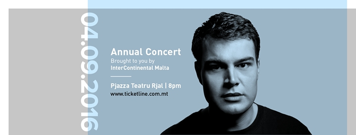 Cliff Zammit Stevens in Concert 2016 - Brought to you by InterContinental Malta
