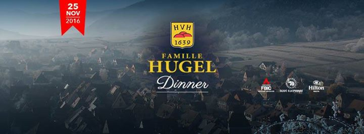 Famille Hugel Dinner