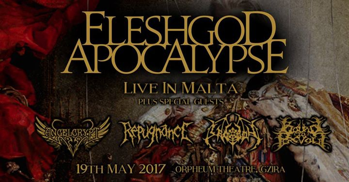 Fleshgod Apocalypse - Live in Malta!