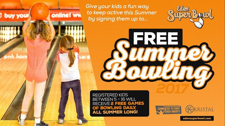 Free Summer Bowling