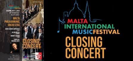 Gala Concert of the Malta International Music Festival 2017