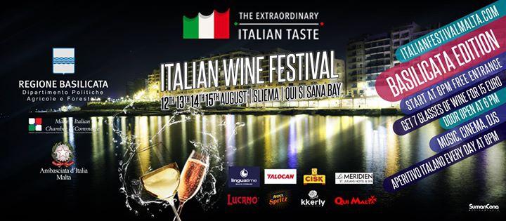 Italian Wine, Food and Cinema Festival - Carpe Diem Edition