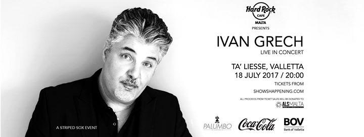 Ivan Grech Live in Concert 2017 in aid of ALS