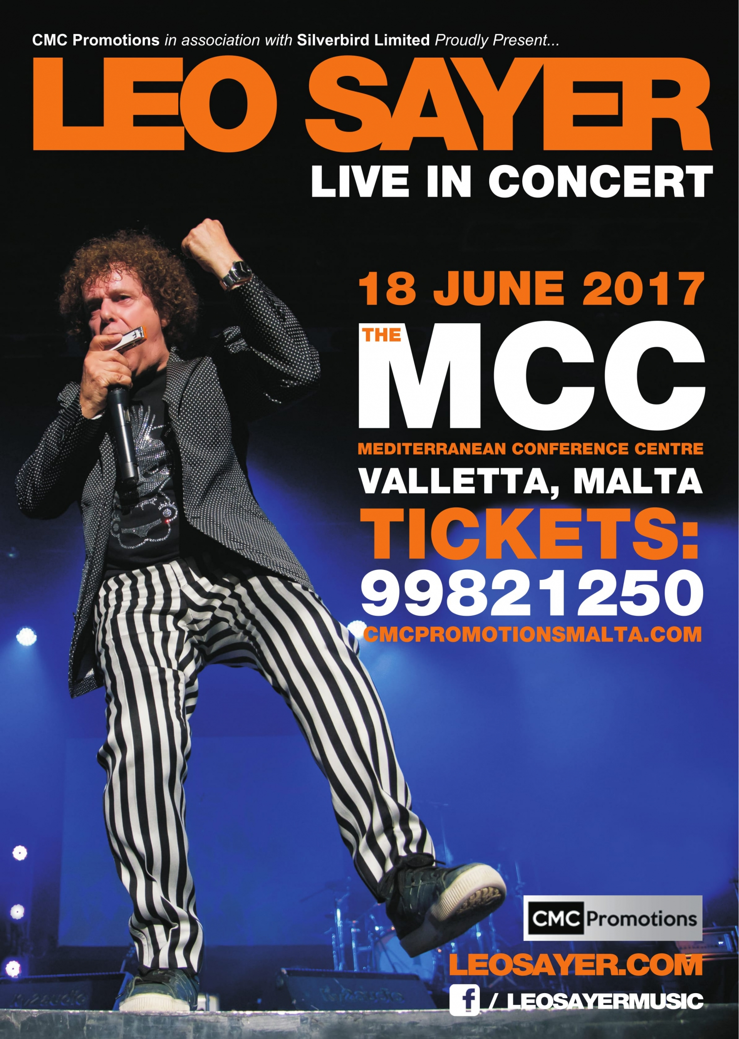 Leo Sayer - Live in Concert