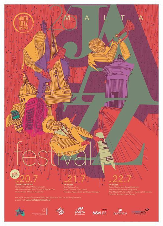 Malta Jazz Festival : Romain Pilon Trio + Walter Smith III