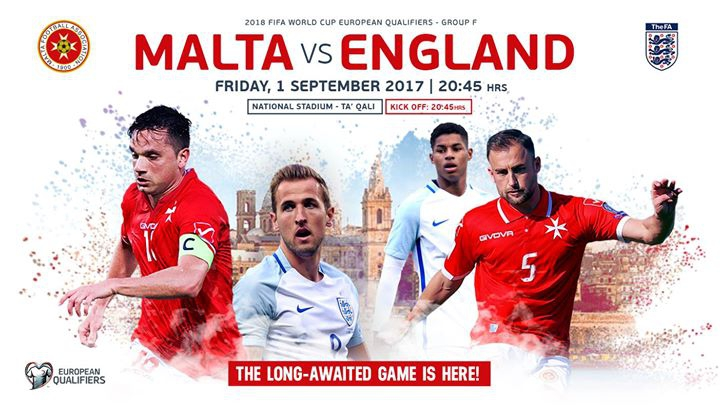 Malta vs England - 2018 FIFA World Cup – European qualifiers