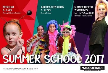 Masquerade Summer School 2017