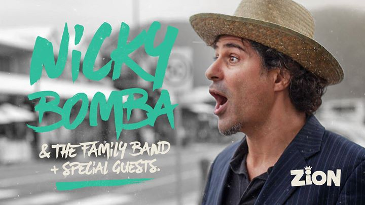 Nicky Bomba & the family band at ZION