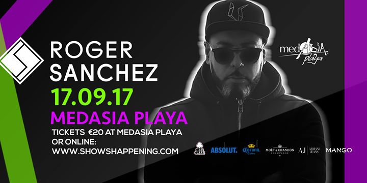 Official Closing -Day 2- MedAsia Playa: Roger Sanchez