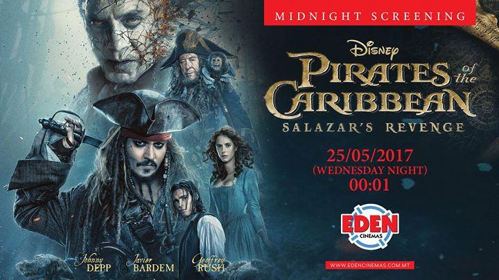 Pirates Of The Caribbean: Salazar's Revenge -Midnight Screening
