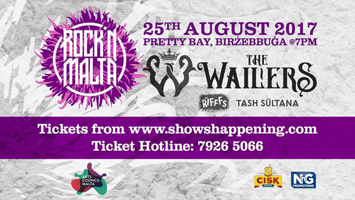 Rock 'N Malta present: The Wailers