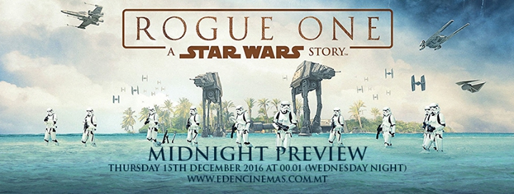 Rogue One: A Star Wars Story Midnight Preview