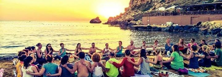 Summer Solstice Yoga at the Beach
