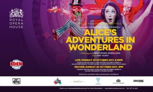 Alice's Adventures in Wonderland LIVE at Eden Cinemas