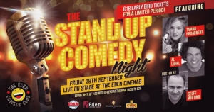 Eden Comedy Club's 17th Stand Up Comedy Night!