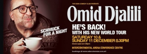 Omid Djalili - Live in Malta on the 10th and 11th December 2016