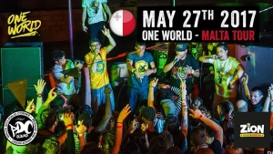 One World - Malta Tour 2017 at Zion Reggae Bar