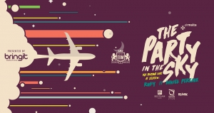 The Party in the Sky ✈ EBM & Air Malta - Presented by Bringit Affiliates