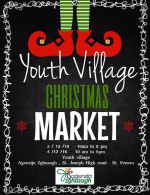 Youth Village Christmas market