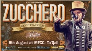 Zucchero #blackcatworldtour 2017 live in Malta