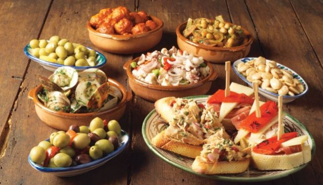 Enjoy tapas and a vino at one of Marbella