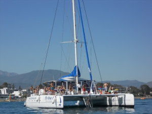 Fly Blue Catamaran