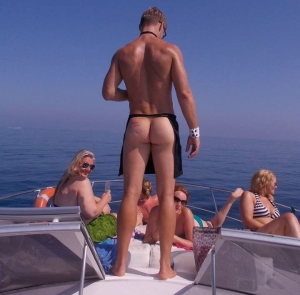 Yacht Party with Marbella Cheeky Butler