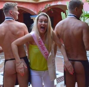 Marbella's Cheeky Butler Hen Party