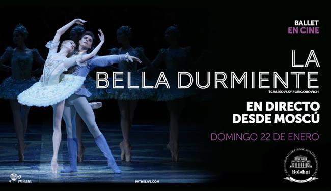 """Ballet """"La Bella Durmiente"""" en directo desde Moscú"""