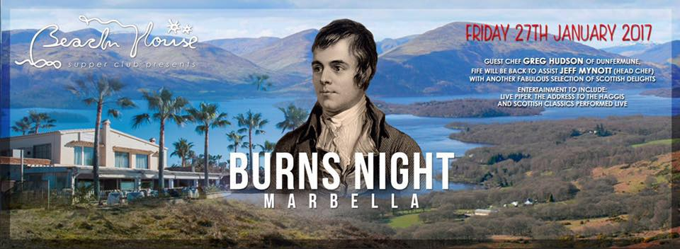 Burns Night at The Beach House