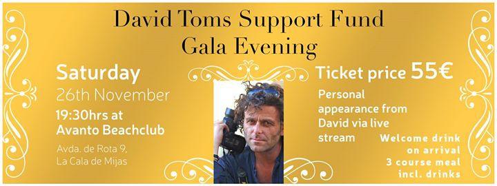 David Toms Gala Evening