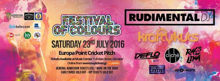Gibraltar Festival of Colours 2016