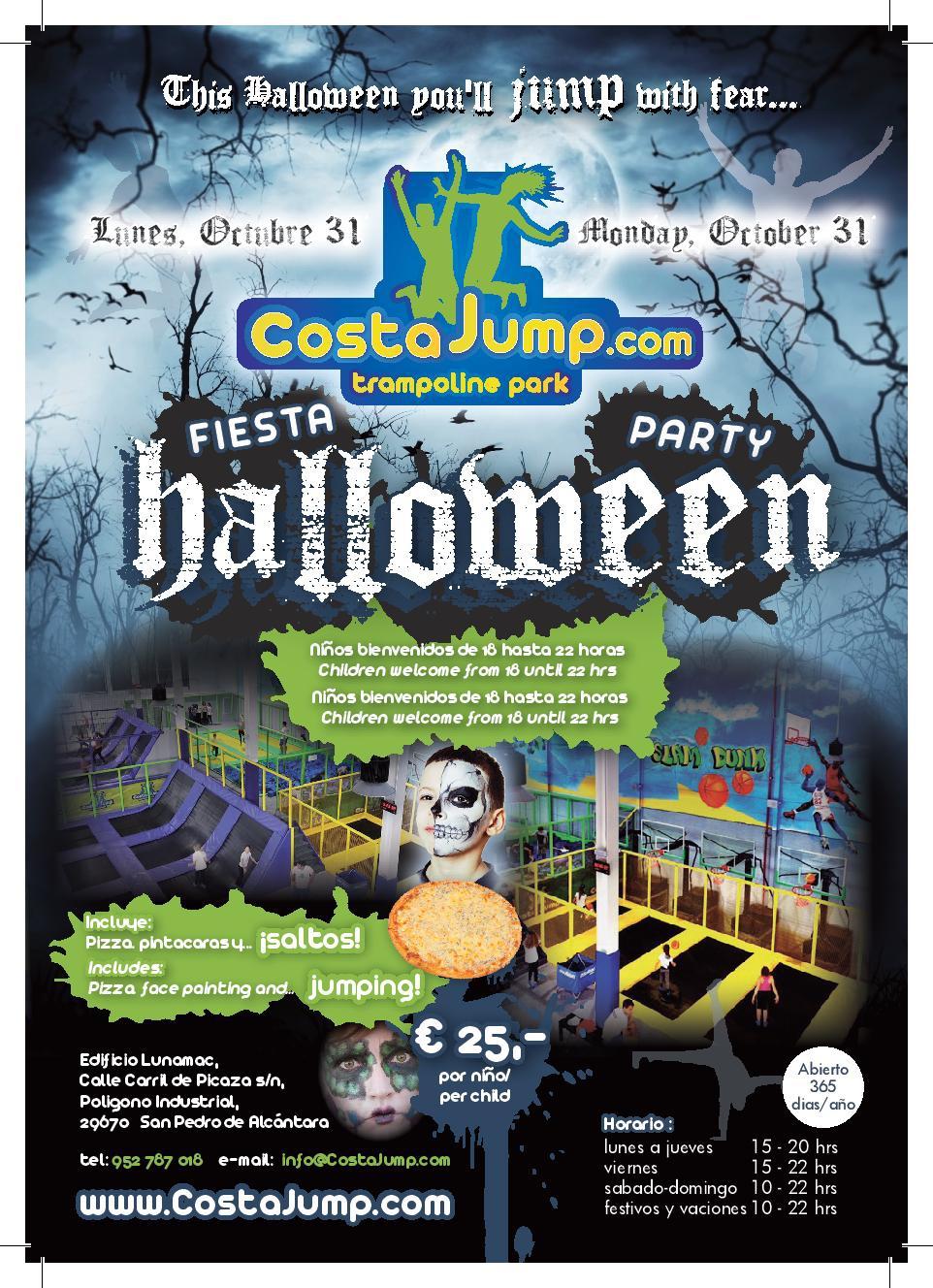 Halloween at Costa Jump