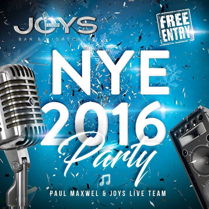 Joys NYE 2016 Party