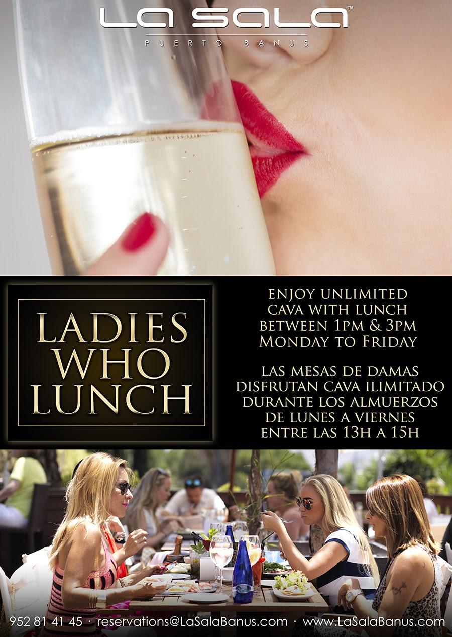 Ladies that Lunch at La Sala