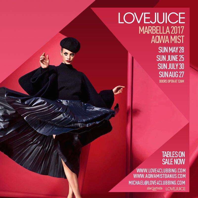 Love Juice at Aqwamist
