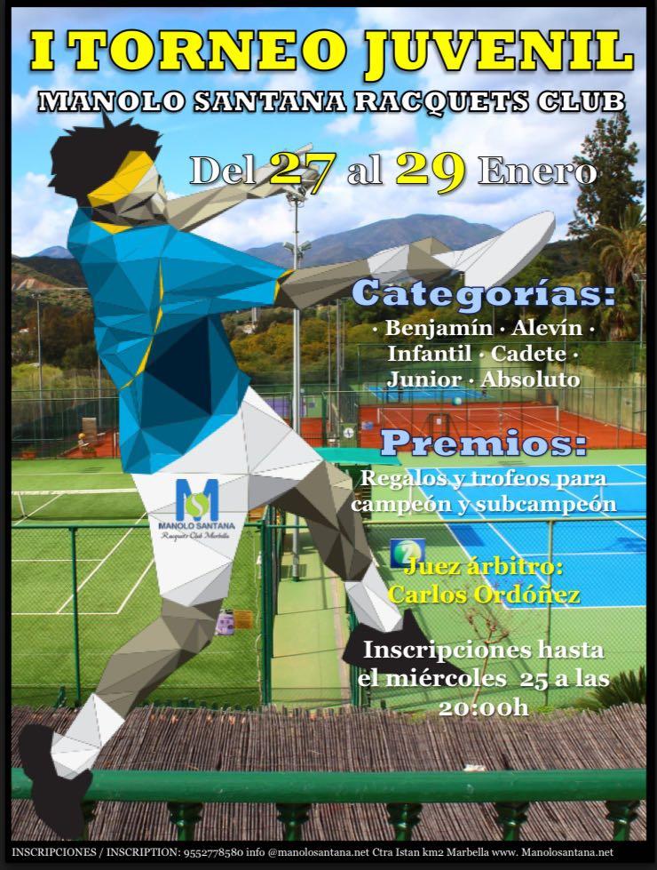 Manolo Santana Racquets Club Tornoments