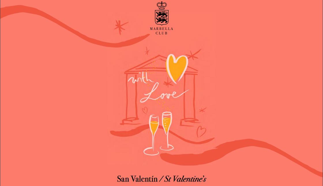 Marbella Club St. Valentine's celebration