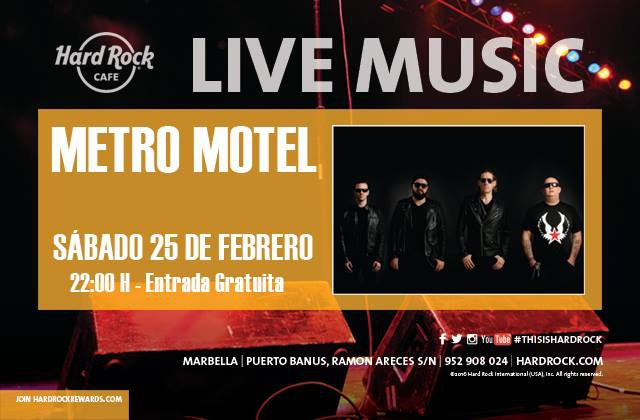 Metro Motel at Hard Rock Cafe Marbella