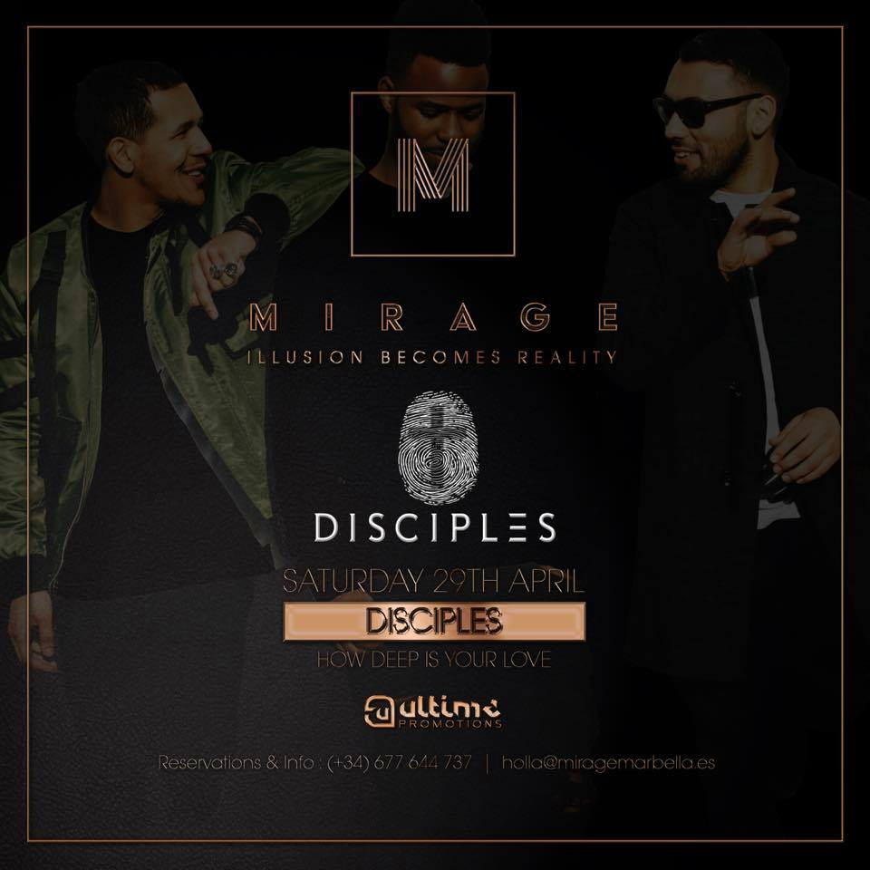 Mirage Launch Party with the Disciples